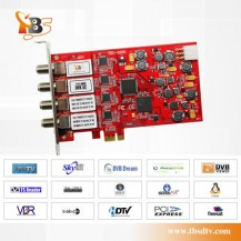 TBS 6985 PCI-E DVB-S/S2 Quad