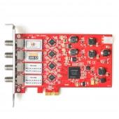 TBS 6904 PCIe DVB-S2 Quad