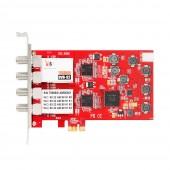 TBS 6908 DVB-S2 Quad Tuner PCIe